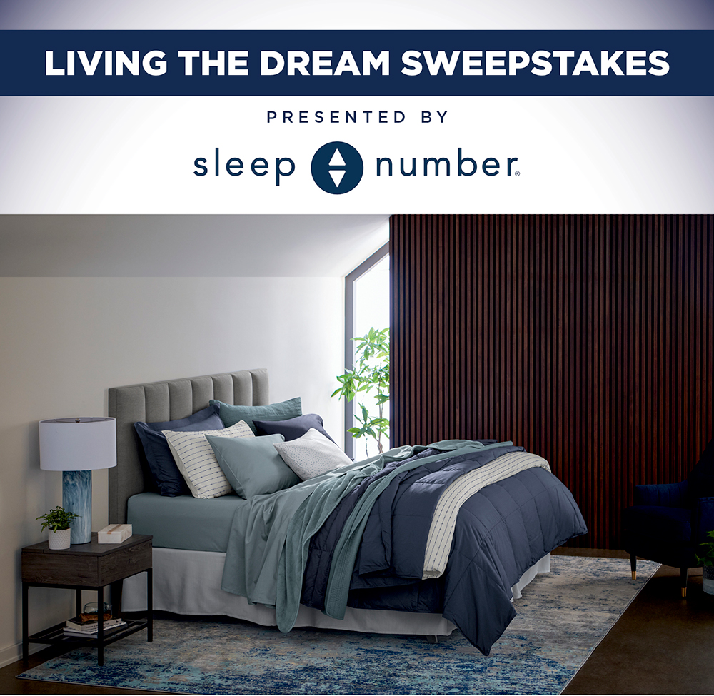 Living The Dream Sweepstakes Presented By Sleep Number®